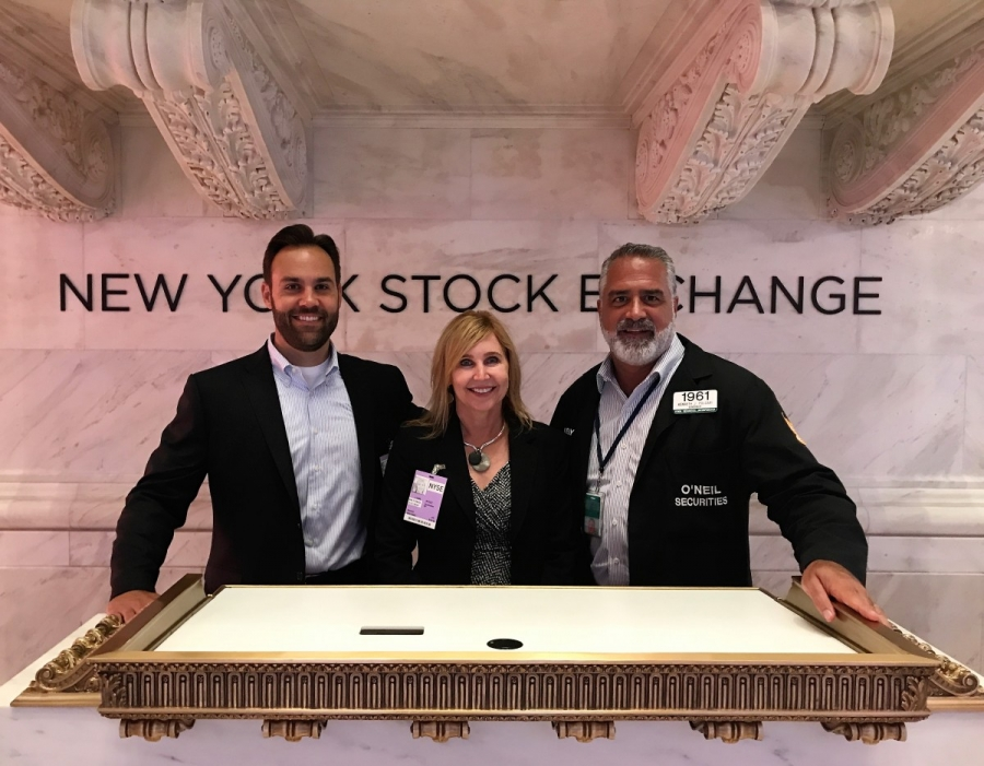 Leadership Spotlight: Bates President & CEO Jennifer Stout and COO Ben Pappas at the NYSE