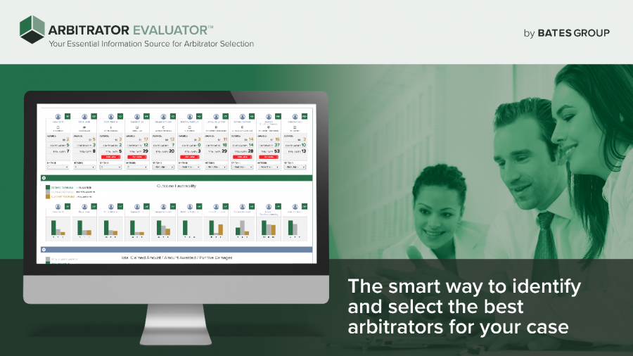 Bates Group Introduces Arbitrator Evaluator™