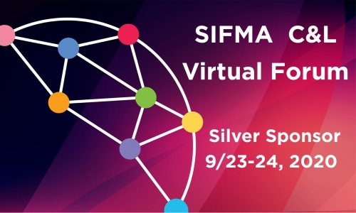 Visit Bates Group's Interactive Booth at the SIFMA C&L Virtual Forum - September 23-24, 2020